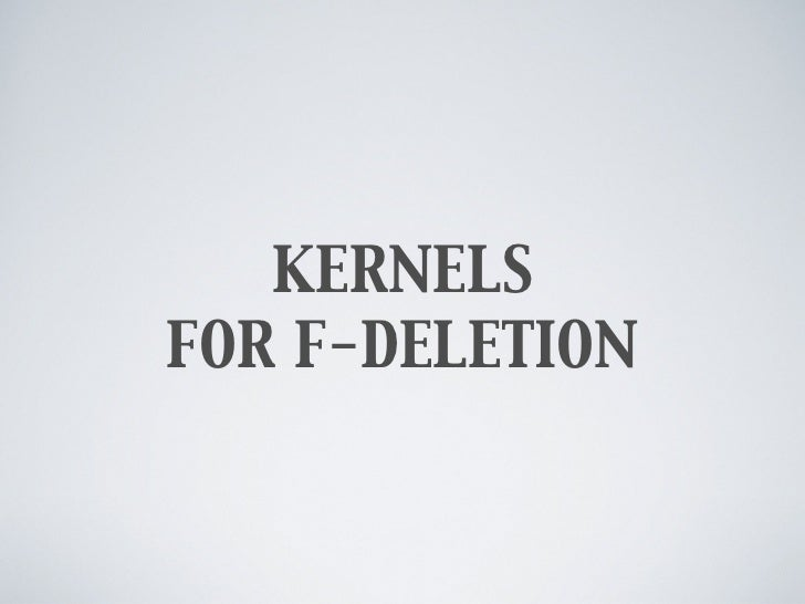 Kernels for Planar F-Deletion (Restricted Variants)