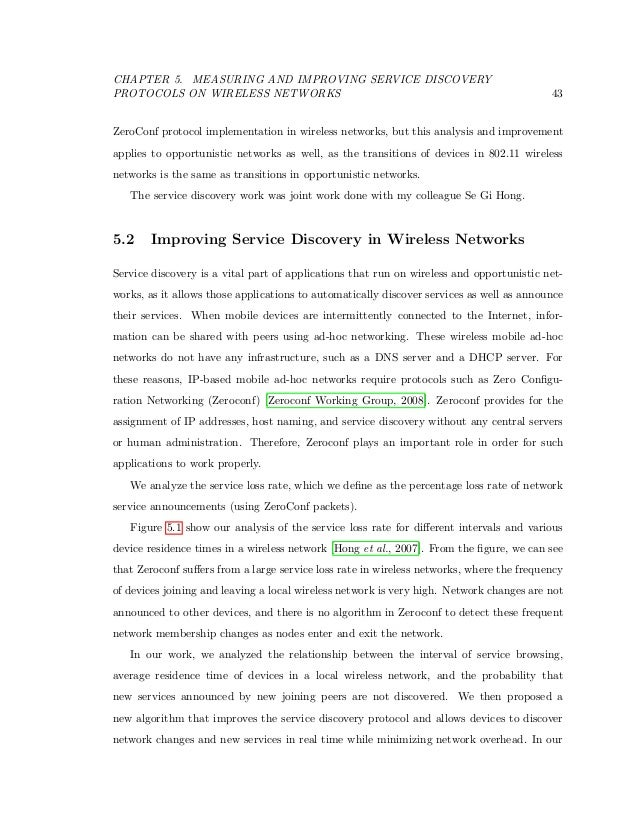 Help improving my thesis?