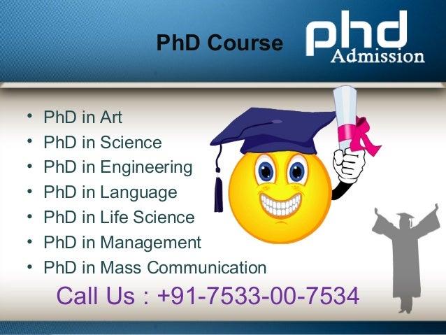 Distance ph.d