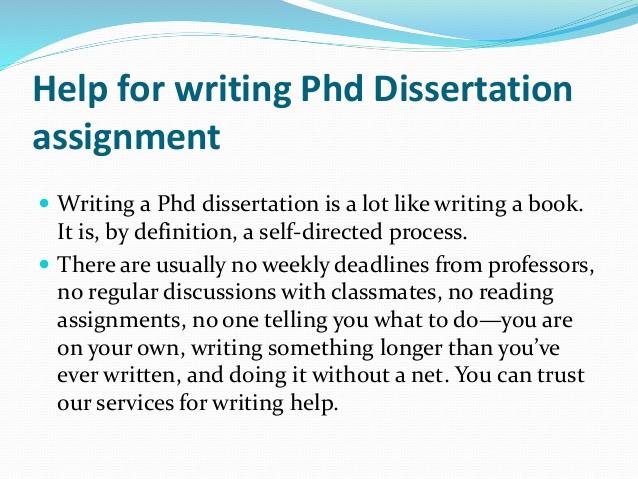 Buy Dissertation Online | 100% Original | PhD Writers - Ultius