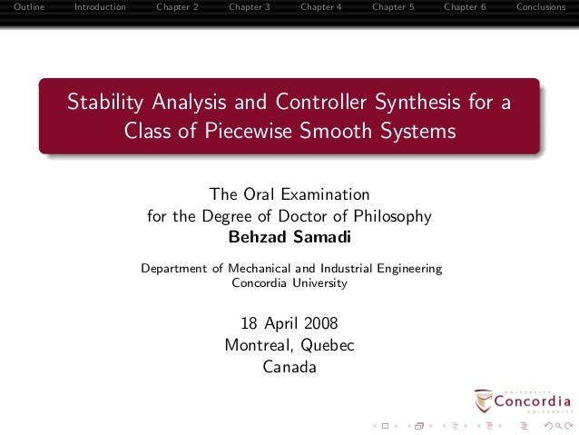 Stability Analysis and Controller Synthesis for a Class of Piecewise Smooth Systems