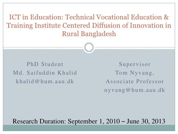 Ph D Plan Presentaion   Khalid