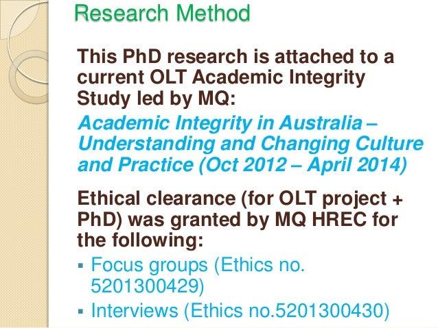 Develop research proposal phd