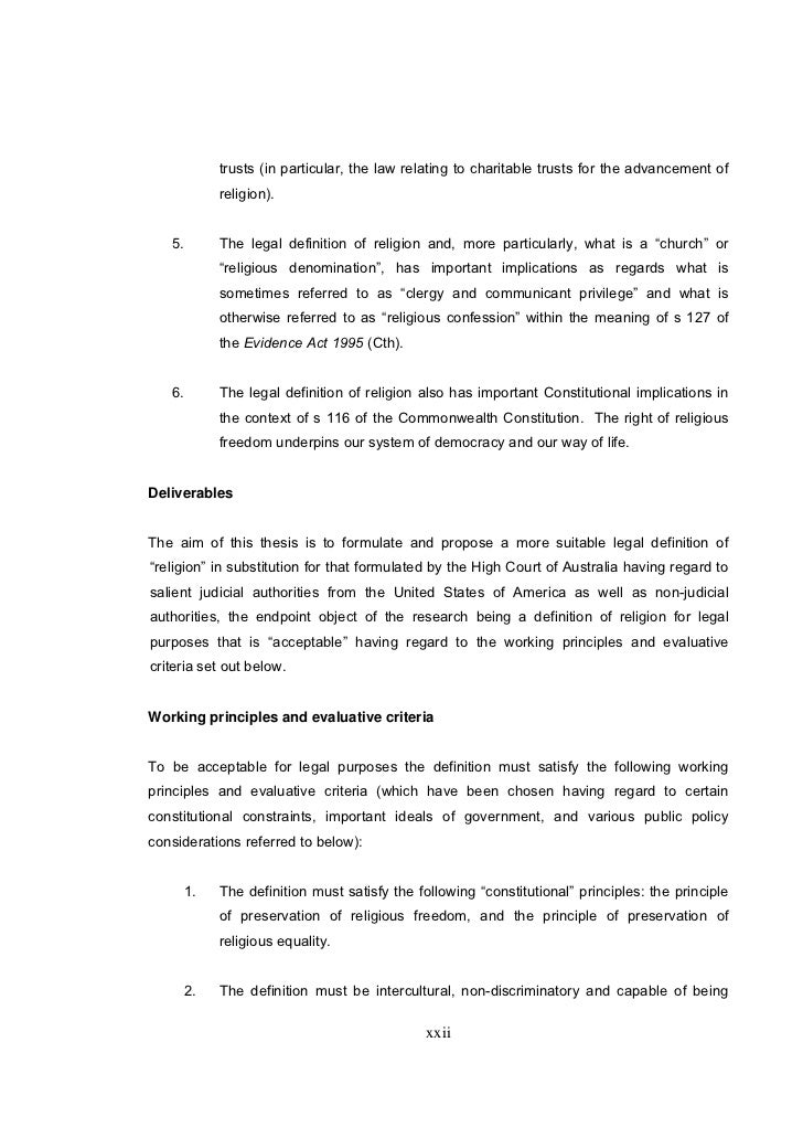 Phd thesis on law