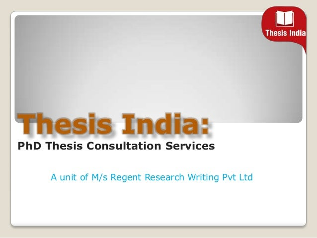 Thesis review service
