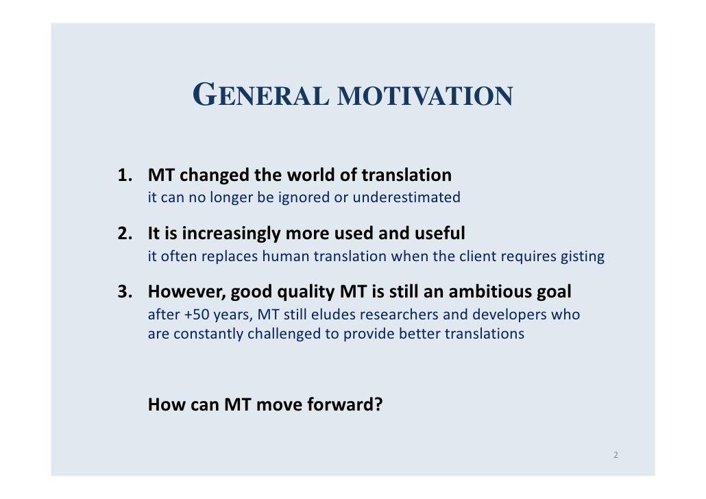 Phd thesis on translation