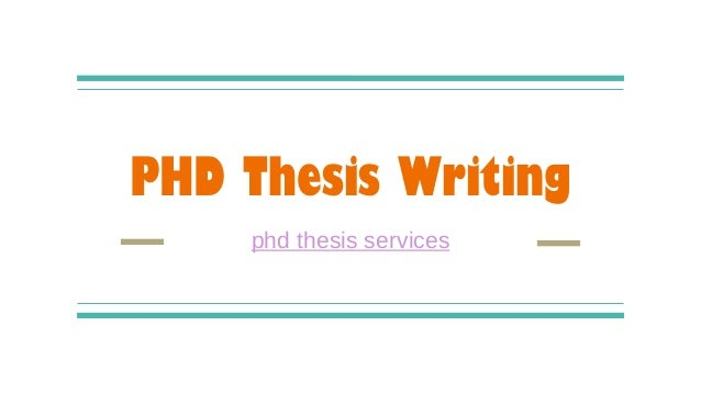 Phd dissertation help thesis