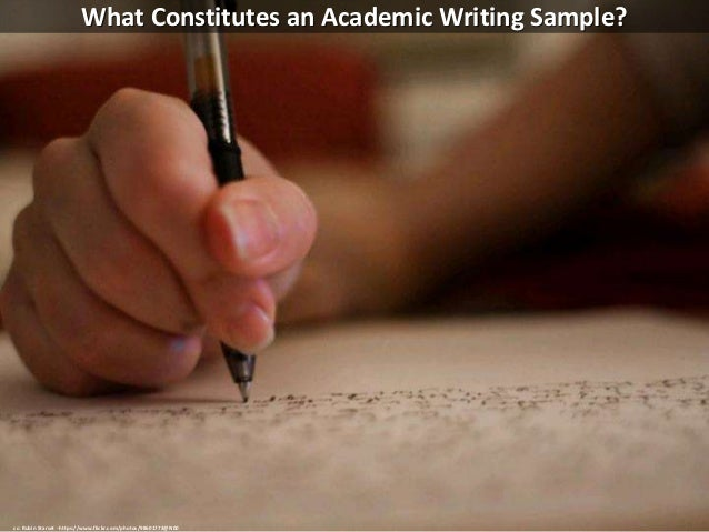Doctoral level academic writing