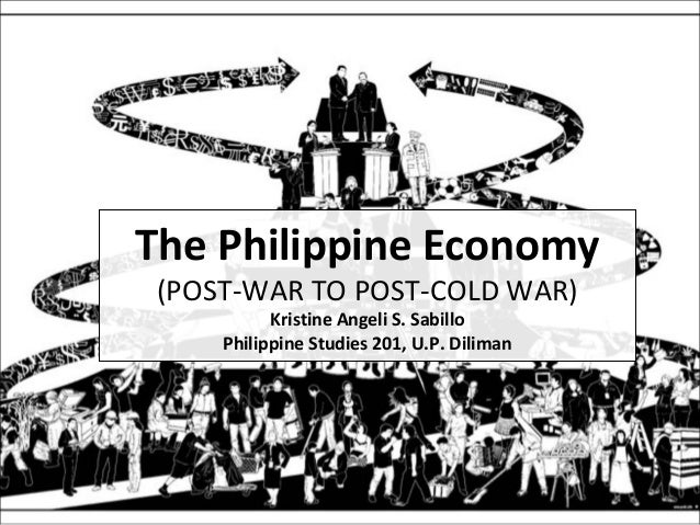 The Philippine Economy (POST-WAR TO POST-COLD WAR) Kristine Angeli S. Sabillo Philippine Studies 201, U.P. Diliman