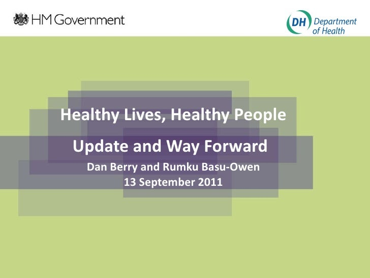 Phe Reforms Dh Update Sept 11 2