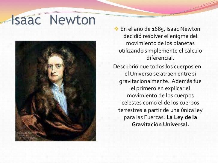 historia de la gravitacion universal