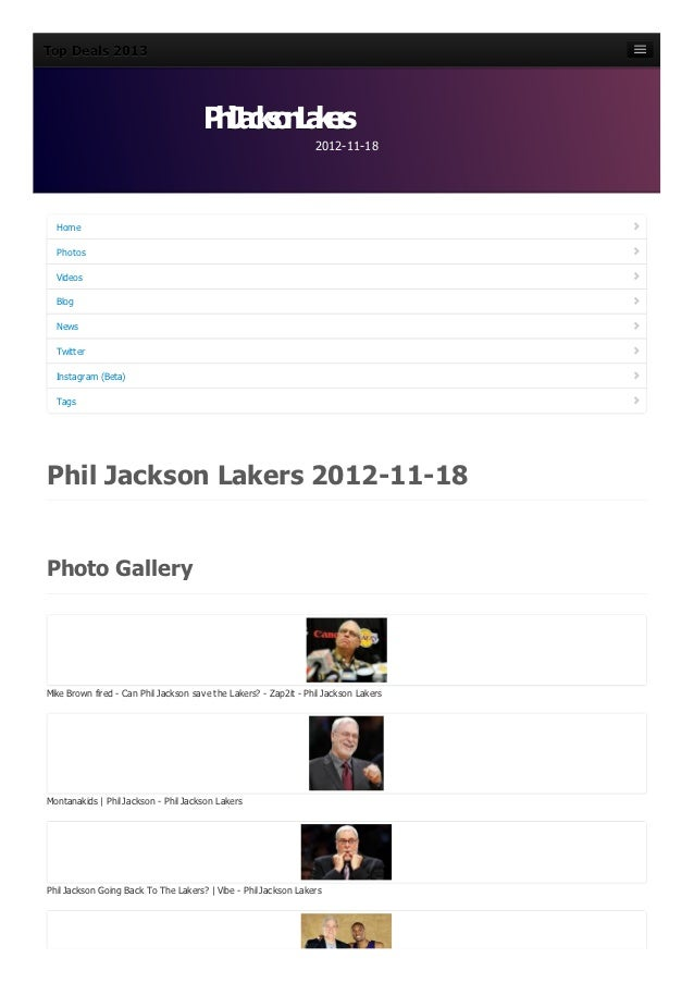 Phil jackson-lakers