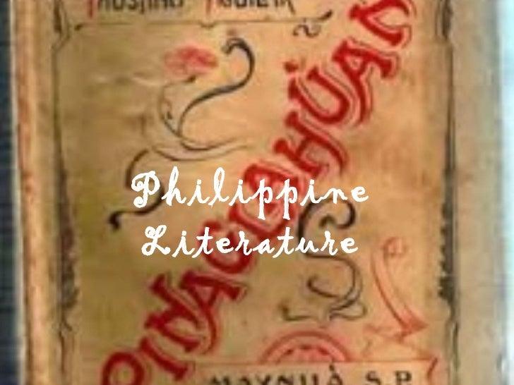 Phil. literature