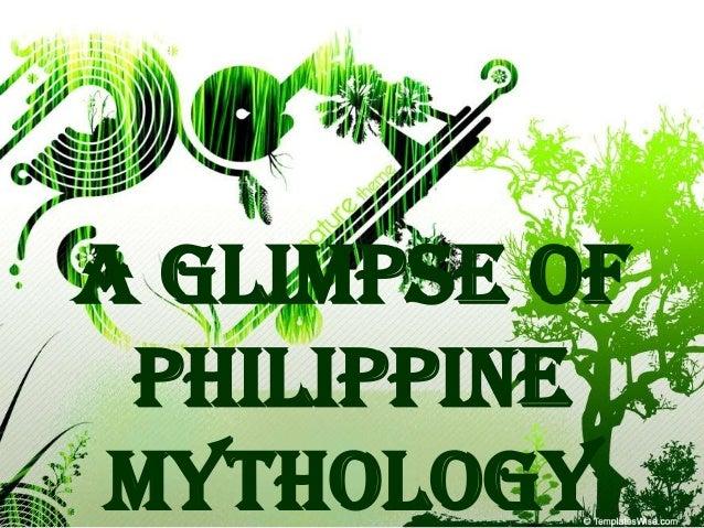 A Glimpse of Philippine Mythology