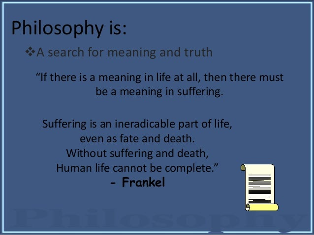 meaning of life philosophy essay This simply shows you have misunderstood this part of the essay, and you are conflating meaning with the meaning of life efforts of a tippling philosopher.