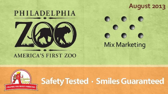Philadelphia zoo and mix marketing