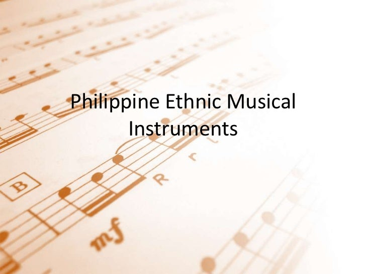 Philippine Ethnic Musical Instruments<br />