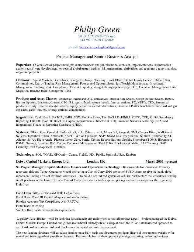 philip green cv