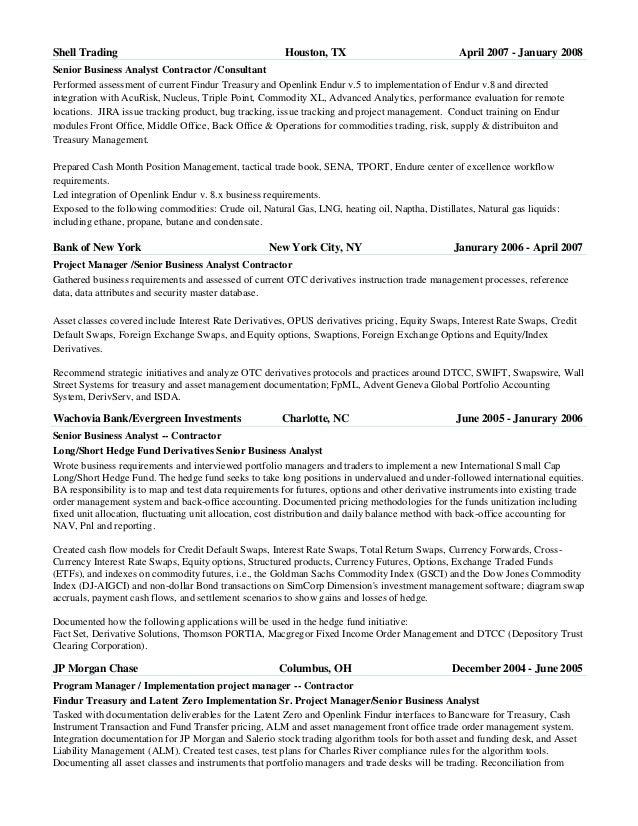 Trading Cover Letter