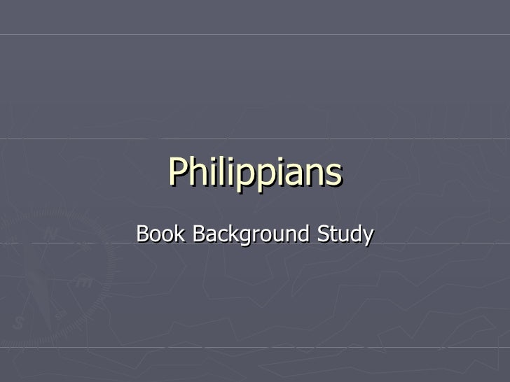 Philippians   Book Background