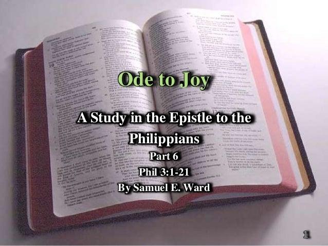 Philippians   pt 6