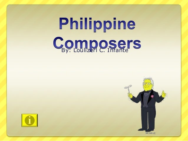 Philippine composers