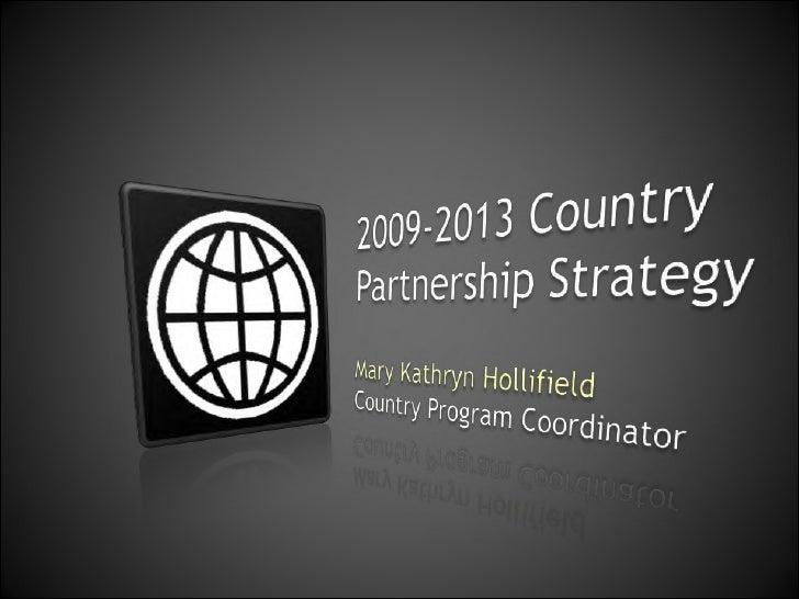 July 2009 – June 2013FINANCING   KNOWLEDGE    PARTNERSHIP