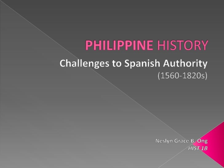Challenges to Spanish Authority