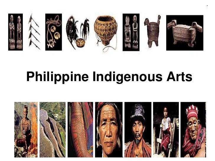 Philippine Indigenous Arts<br />