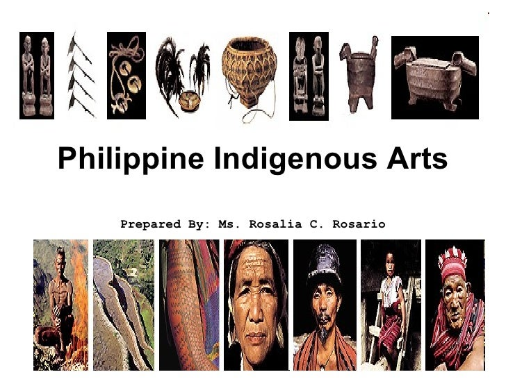 Philippine indigenous arts