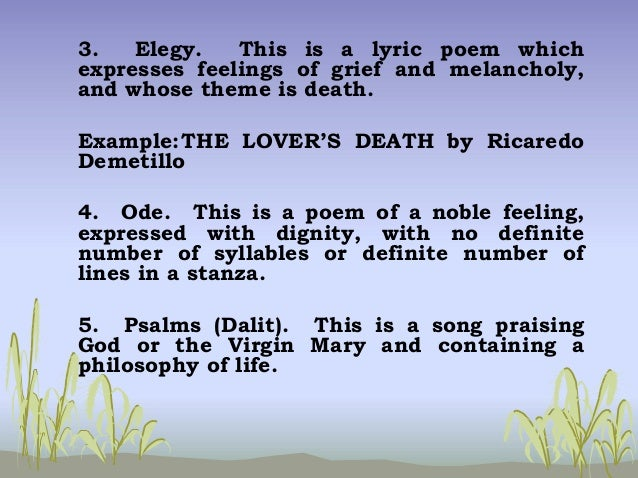 philippine lyric poem Filipino poems written in english save cancel already exists would you like to merge this lyric 17 of jose garcia villa is a good lyric poem.