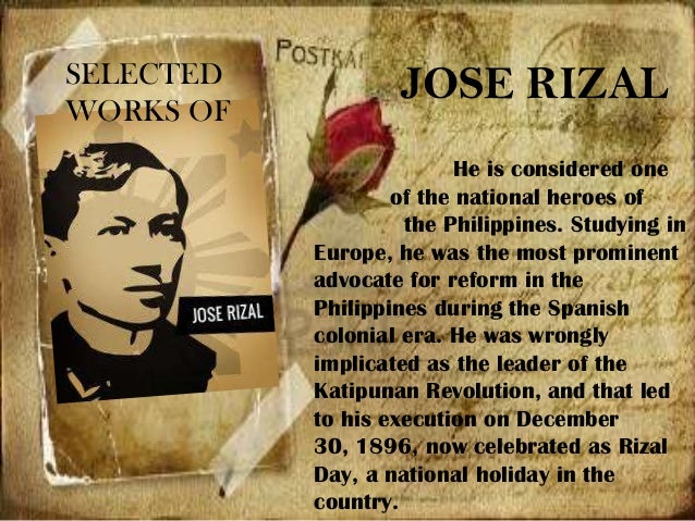 reaction on was rizal an american What is your reaction about jose rizal's commentthat america is the land par excellence of freedom but only for the whites.