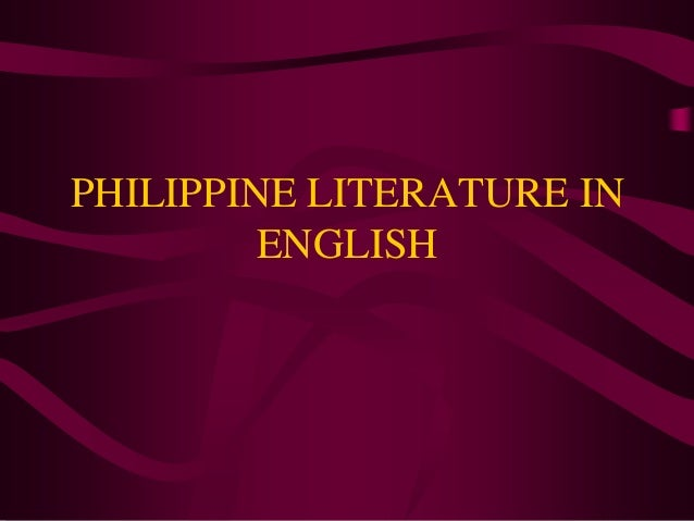 philippine literature part i Keywords –21st century philippine and world literature, enhanced basic education act of 2013 first part deals with the respondents' assessment of the.