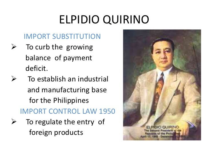 e quirino and magsaysay essay Best answer: name: elpidio quirino birth date: november 6, 1890 death date: february 29, 1956 place of birth: vigan, philippines place of death: philippines.
