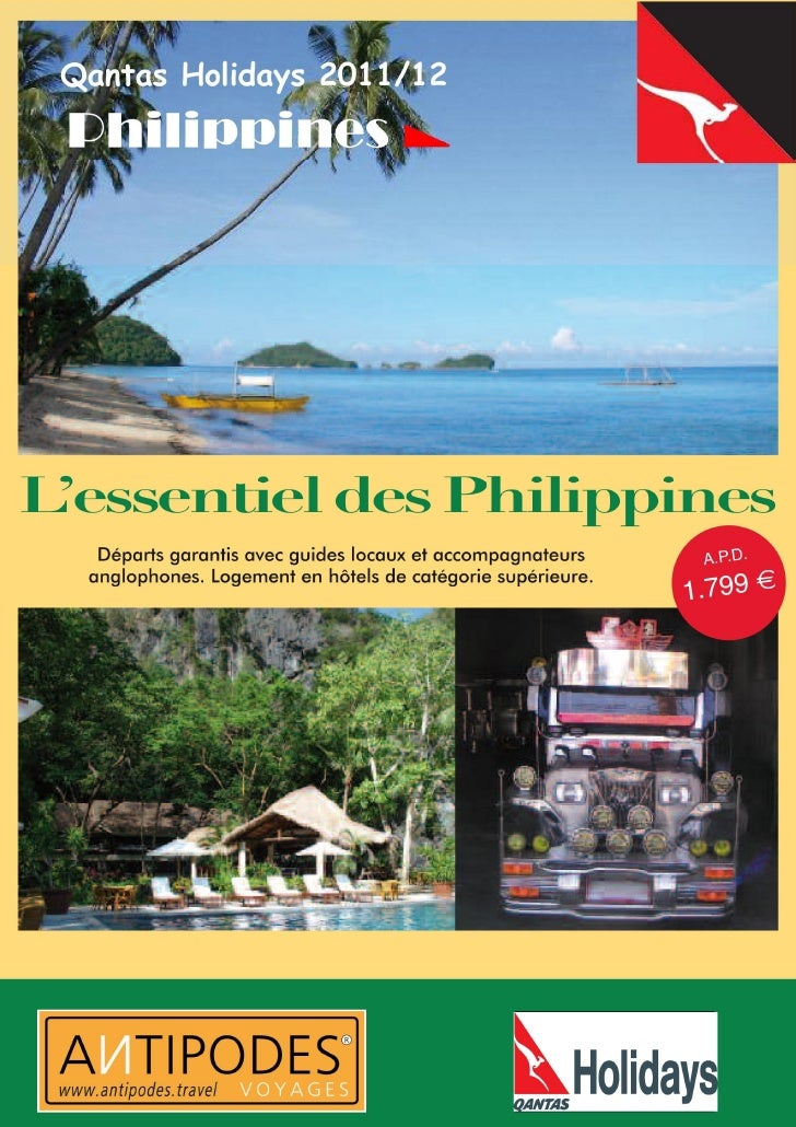 A la découverte des Philippines