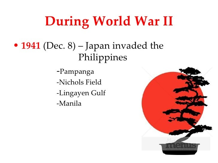 poems during japanese occupation in the philippines Poetry in english during this period of philippine literature in english during grim experiences of war during the japanese occupation.