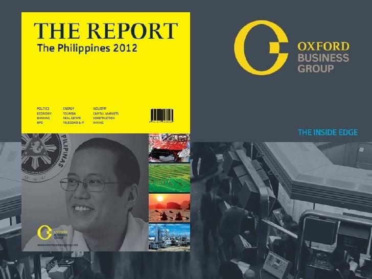 WelcomePr e s e n t at i o n Ti t l e : THE REPORT: O AN 2009                                              M          Ox f...