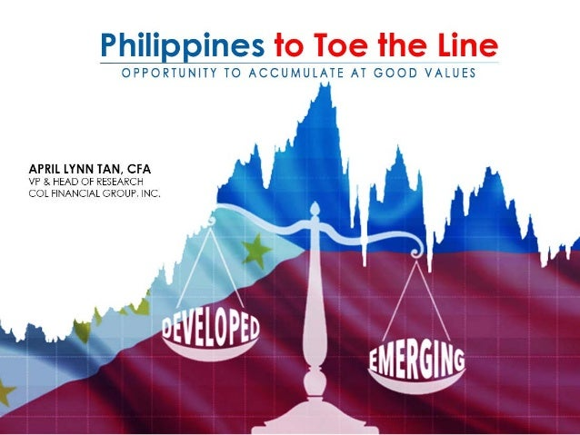Philippines to toe the line april