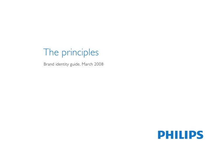 PHILIPS (Brand Identity Guide. v. 03/2008)