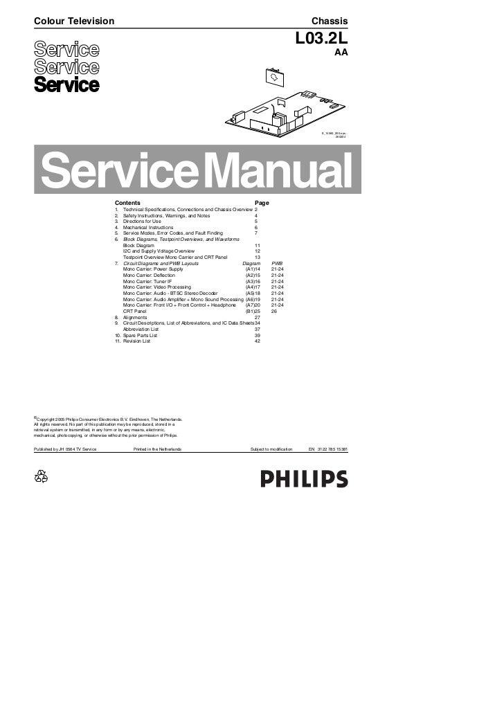 Philips 14 pt3005 55 chasis l03.2l_aa