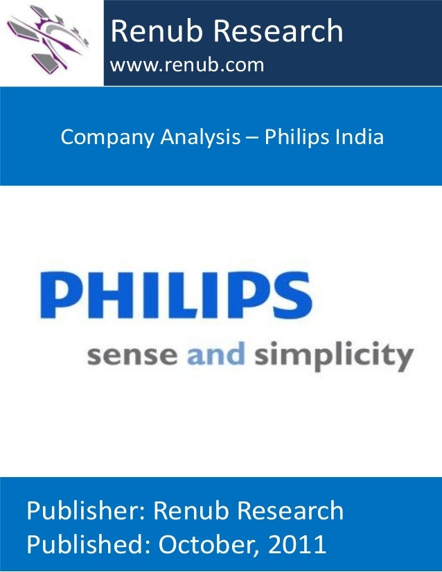 Philips company analysis