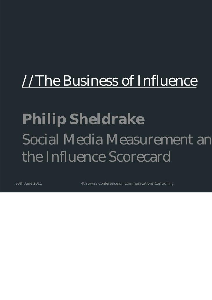 """Philip Sheldrake """"Social Media Measurement"""""""