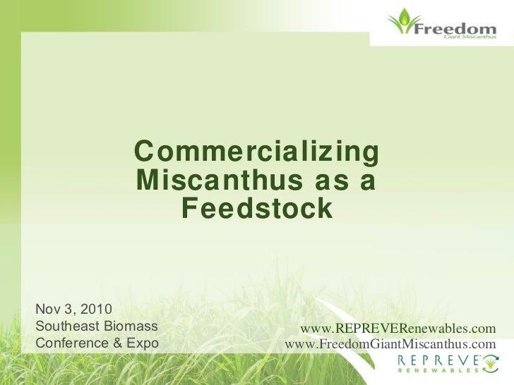 SE Biomass Conference Presentation