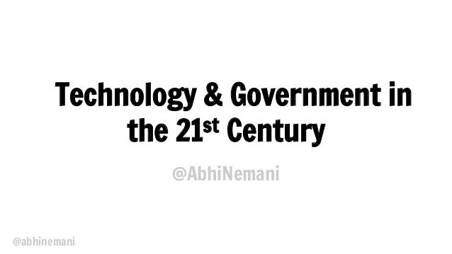 Philly Emerging Tech for the Enterprise: Tech & Government for the 21st Century