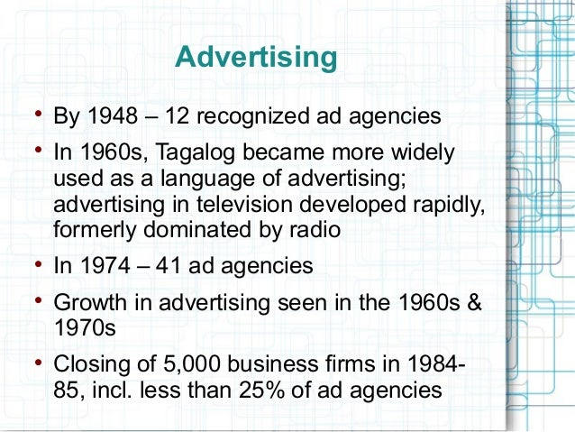 online advertising history essay Read the following sample essay on advertising techniques and find out why  learn more about our company by checking out our history, culture,.