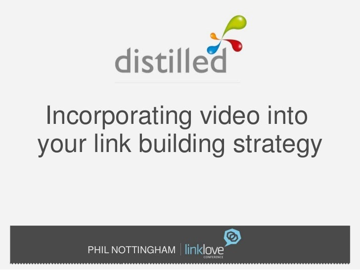 Video in linkbuilding strategy