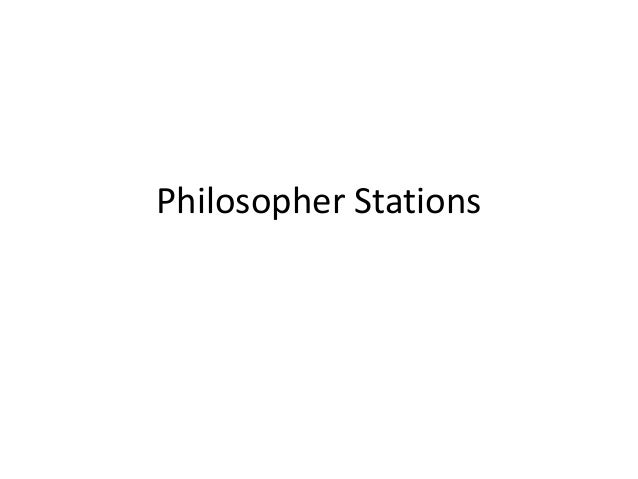 Philosopher stations (1)