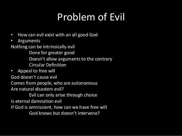 Essay on evil