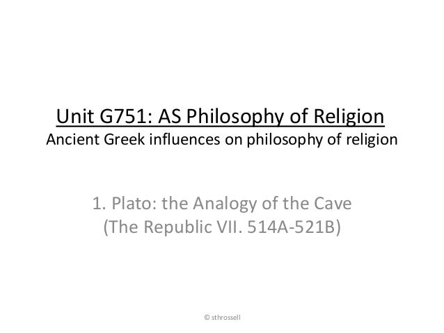 AS Philosophy of Religion (OCR): Ancient Greek influences on religiou ...
