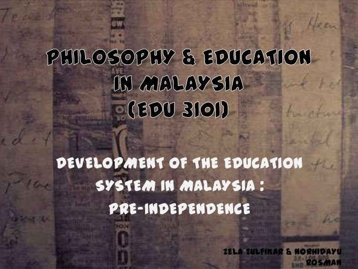 Essay about education system in malaysia